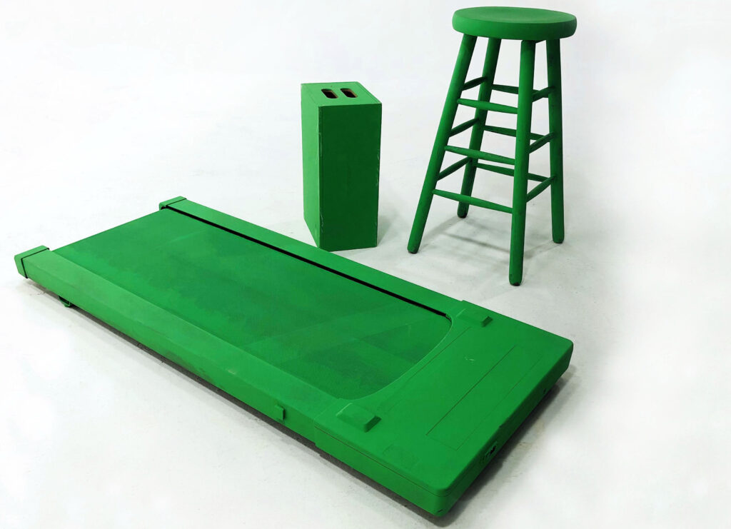 greenscreen treadmill